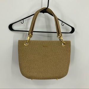 Eric javis squishes clip tote bag in natural